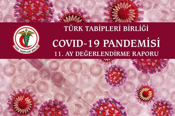 TTB COVID-19 Pandemisi 11. Ay Değerlendirme Raporu