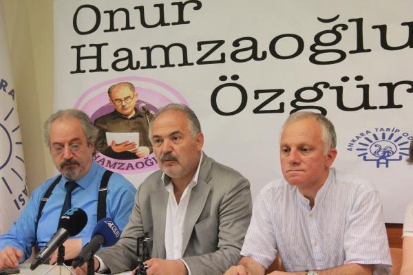 """TTB ve ATO'dan Ortak Açıklama """"Prof. Dr. Onur Hamzaoğlu, Yaşamını Halkın Sağlığına Adamış Bilim İnsanıdır. Serbest Bırakılsın!"""""""